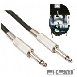 Cabo Jack 6.35mm Macho / Macho 5M Mn Hq Power