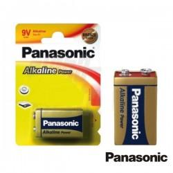 Pilha Alcalina 9V/6Lr61 Blister Panasonic