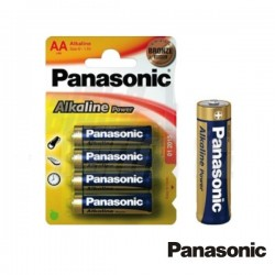 Pilha Alcalina Lr6/AA 1.5V 4X Blister Panasonic