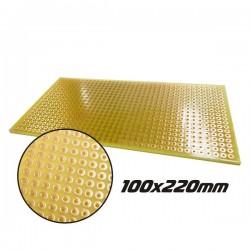 Placa Circuito Impresso Perfurada Em Pontos 100X220mm