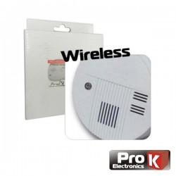 Sensor Fumos p/ Sistema de Alarme Wireless Pkd Hs09 Prok
