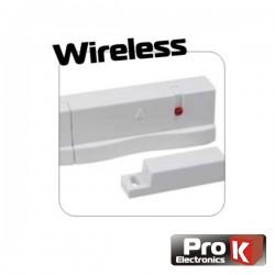 Sensor Porta p/Sistema de Alarme Wireless Pkd Hs09 Prok