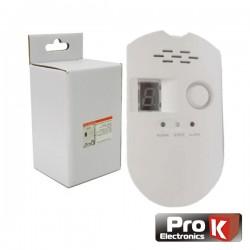 Detector de Gás Com Alarme Prok