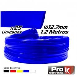 Tubo Manga Termoretráctil 12.7mm 1.2M 25X Azul Prok