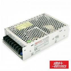 Fonte de Alimentação Industrial 12V 100W 8.5A Alpha