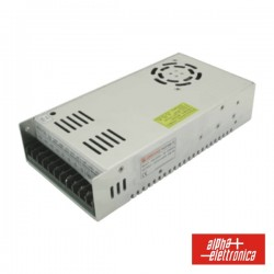 Fonte de Alimentação Industrial 12V 300W 24A c/ Pfc - Alpha