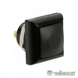 Interruptor Pressão Miniatura 1P Spst Off-(On) Preto