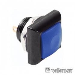 Interruptor Pressão Miniatura 1P Spst Off-(On) Azul