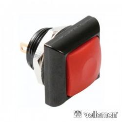Interruptor Pressão Miniatura 1P Spst Off-(On) Vermelho