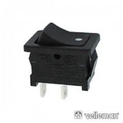 Interruptor de Potência Basculante 3A-250V Spdt On-Off-On