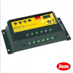 Regulador Painel Fotovoltáico c/ Fotocélula 10A 12-24V Join