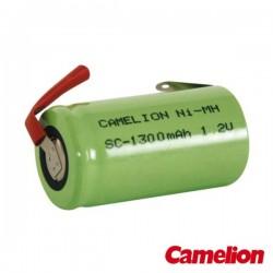Bateria Ni-Mh Sc 1.2V 1300Ma c/ Patilhas