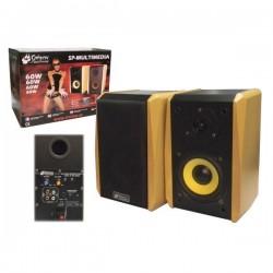 Colunas Acústicas Amplificadas 60W Conjunto de 2 Unid. Sphynx