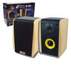 Colunas Acústicas Hi-Fi 60W Conjunto de 2 Unid. Sphynx