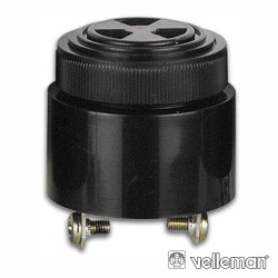 Besouro c/ Intensidade Regulável 3V-24V Velleman