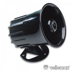Sirene Electrónica 6-12V 1300Ma 125Db Velleman