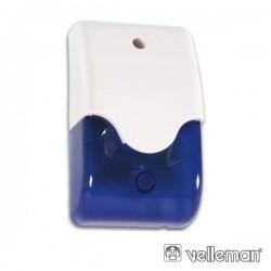 Sirene E Estroboscópio Azul Em Caixa c/ Led Velleman