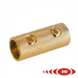 Ligador União para Cabo de 7mm - Dourado