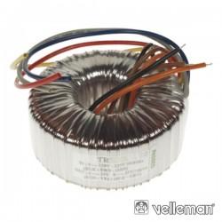 Transformador Toroidal 100Va 230/235V 2X25V