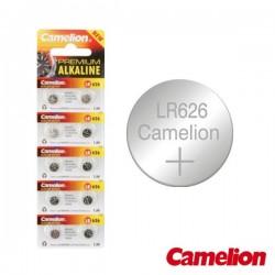 Pilha Botão Lr626/Ag4 1.5V-18Mah Blister (10X) Camelion