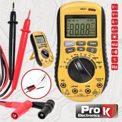 Multímetro Digital Autorange c/Detector de Voltagem Prok