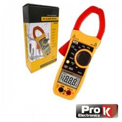Pinça Amperimétrica Digital Ac 1000A Prok