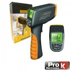 Termómetro Por Ir Digital c/ Laser Prok