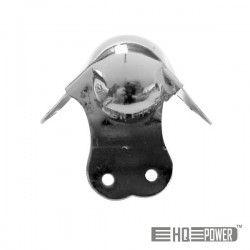 Canto p/ Caixa Acústica Metal Branco 50mmx90° Hq Power