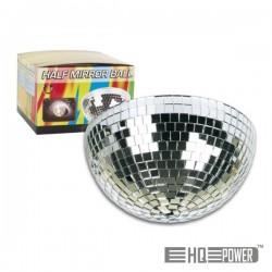 Meia Bola de Espelhos 20cm c/ Motor Hq Power