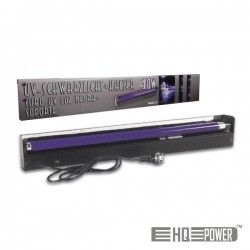 Suporte c/ Luz Negra 120cm 40W Hq Power