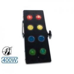 Projector de Luzes 400W c/ 8 Mr16 Coloridas Velleman