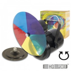Projector Par36 c/ Disco Colorido E Motor Velleman
