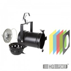 Projector Longo Par56 Preto Hq Power