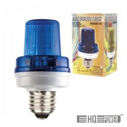 Lâmpada E27 3.5W 230V p/ Estroboscópio Azul Hq Power