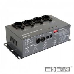 Controlador de Luzes c/ 4 Canais (4X5A) Dmx Hq Power