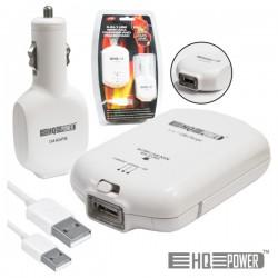 Carregador de Baterias Ni-Mh AAA 5 Em 1 c/ Usb