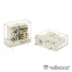 Relé 12Vdc Interruptor Unipolar 10A/12V