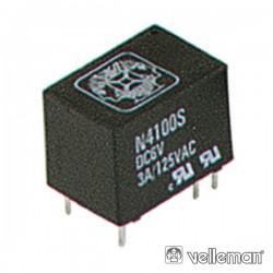 Relé 12Vdc Inversor Unipolar 3A/125V