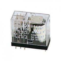 Relé 12Vdc 5A/30Vdc-220Vac 2 X Inversor