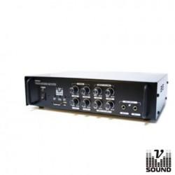 Amplificador Pa 12/220V 3 Entradas 120W Mp3/Usb/Sd Vsound
