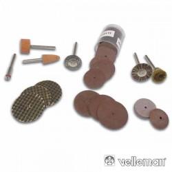Kit de 50 Acessórios p/ Mini Berbequim