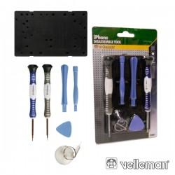 Conjunto de Ferramentas Manutenção Iphone 3/4 Velleman