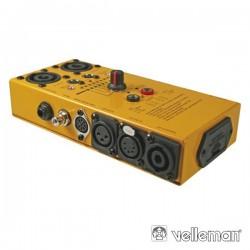 Testador de Cabos Áudio Velleman