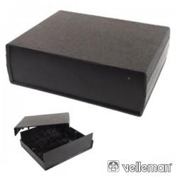 Caixa de Plástico Preta 200X160X65mm