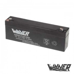 Bateria Chumbo 12V 2A Winner