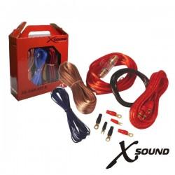 Kit de Cabos Completo p/Amplificador Xsound