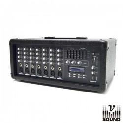 Amplificador Áudio Profissional 150Wmáx. Vsound