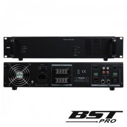 "Amplificador 19"" 2U 1 Canal Pa 100V 230/24V 480W Bstpro"