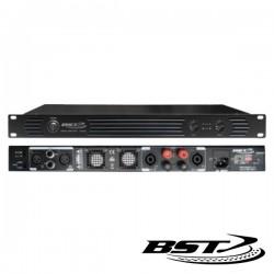 """Amplificador Áudio Pro 19"""" 2X900W Bst"""