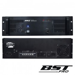 "Amplificador 19"" 3U 1 Canal Pa 100V 650W Bstpro"